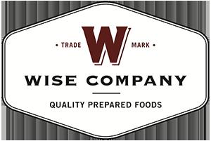 Wise Company: Quality Prepared Foods logo.