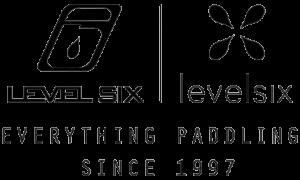 Level Six: Everything Paddling Since 1997 logo.