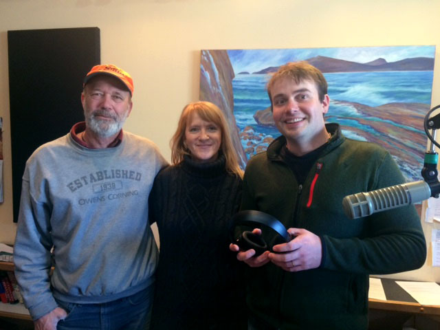 WTIP Public Radio interview with Joe and Peggy from 2 Paddling 5.
