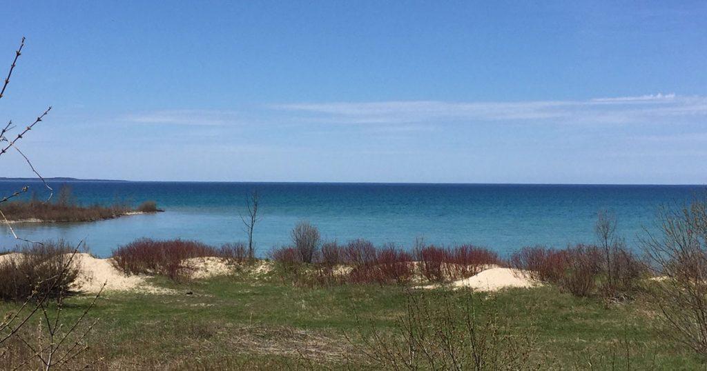 Norwood Michigan shore.