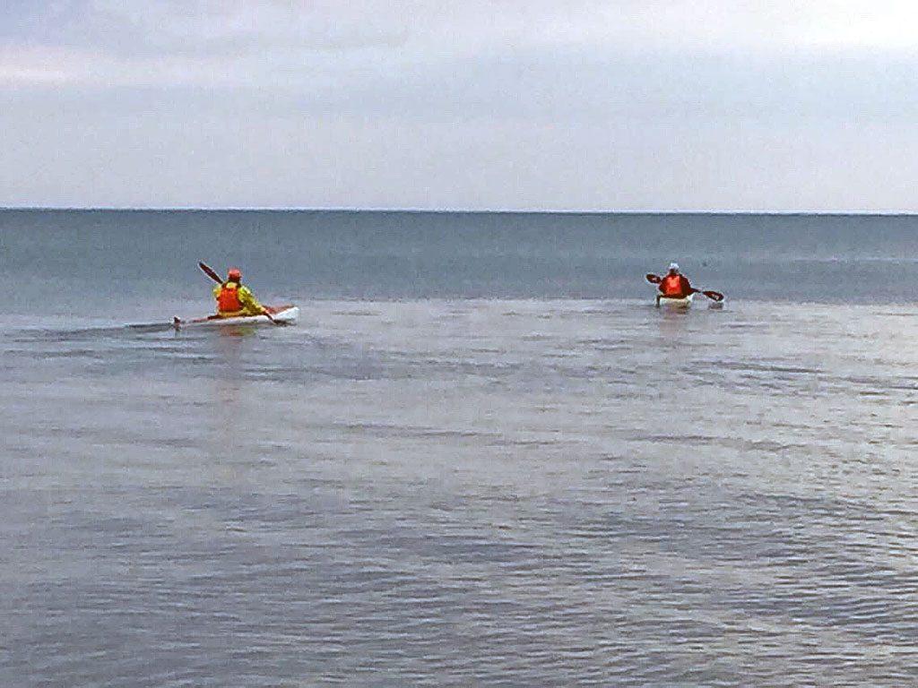 Kayak launch on Monday 4/10/17 from Sleeper Start Park .