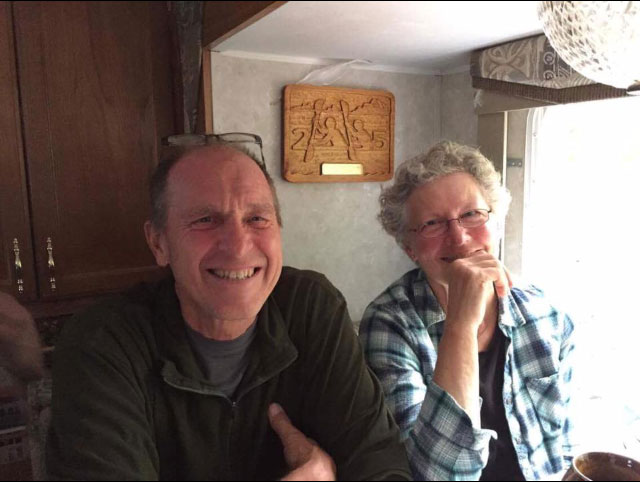 Paul and Debbie Gelderblom.