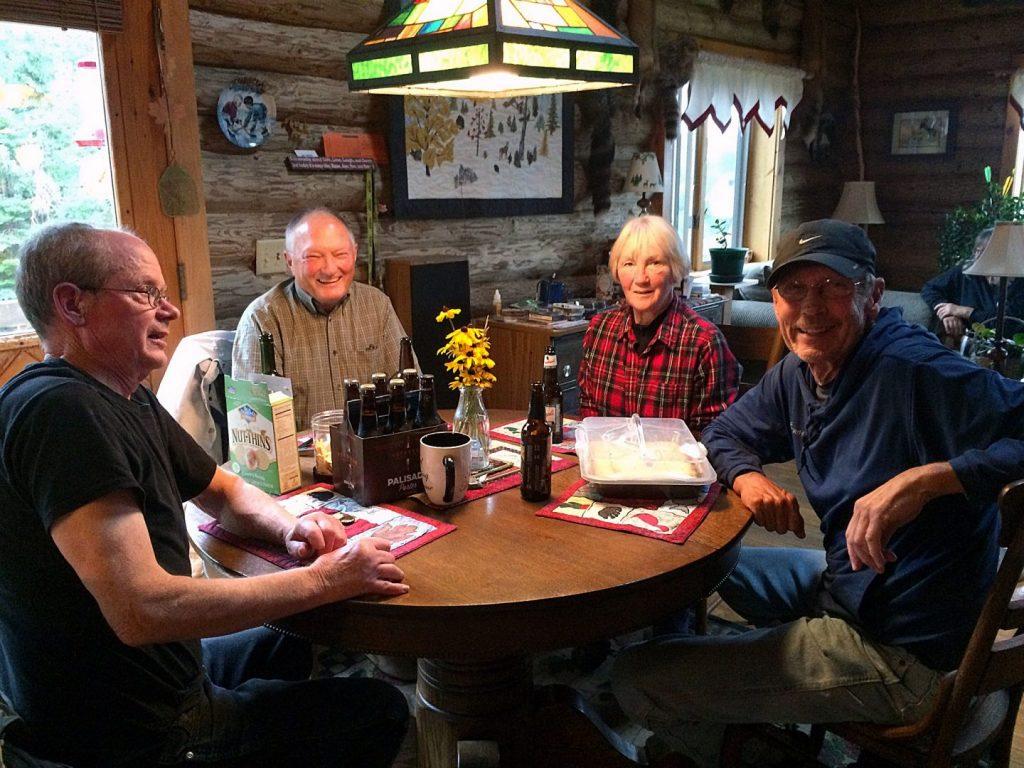 Paddling Group party at Joe Zellner's house.