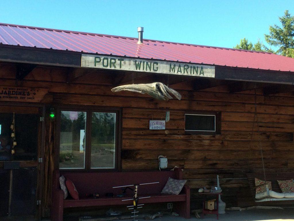 Port Wing Marina & Holiday Pines Resort.