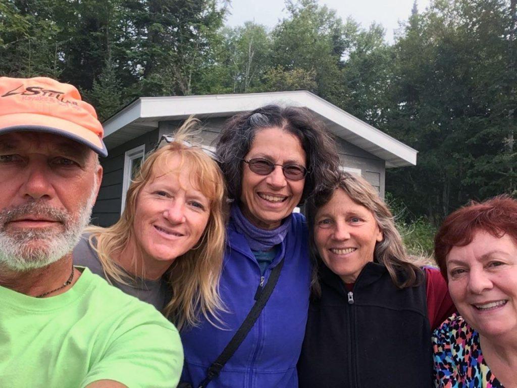 Friends from the Grand Marais Paddling Club.