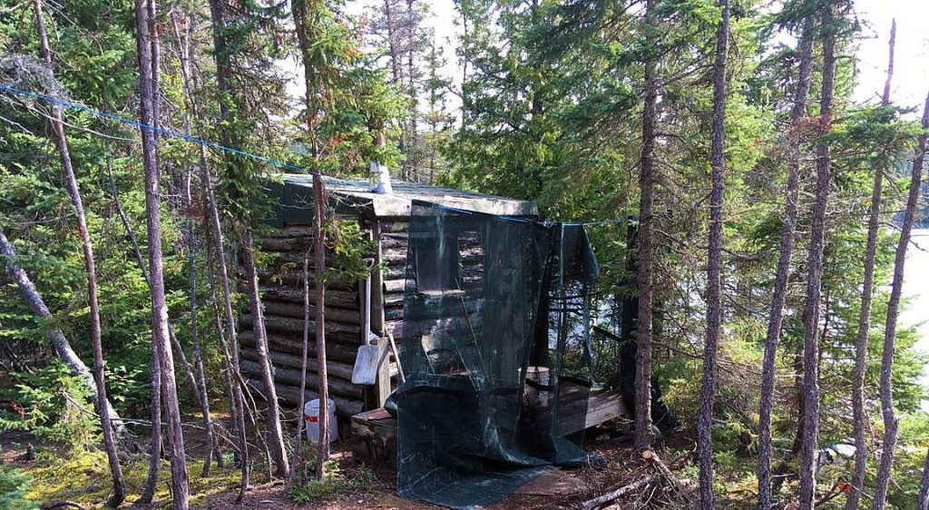 Lake Superior Spar Island sauna.