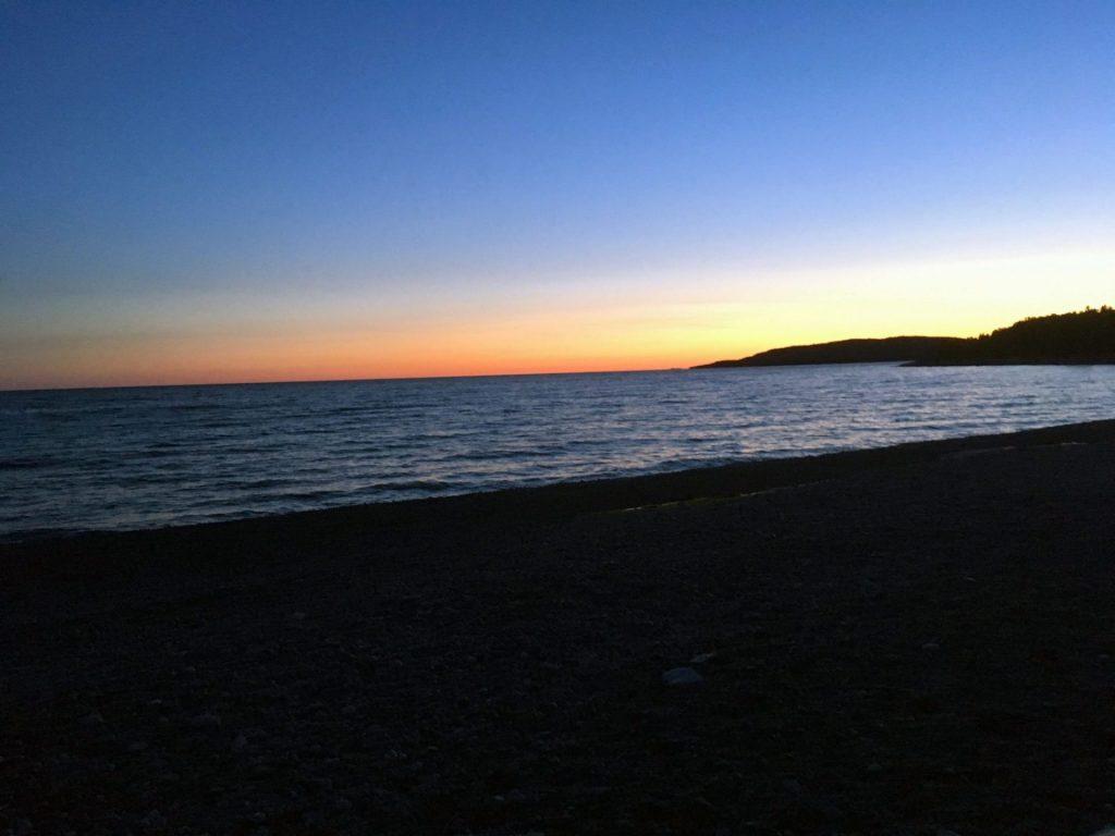 Last sunset at Ripple, Ontario, Canada.