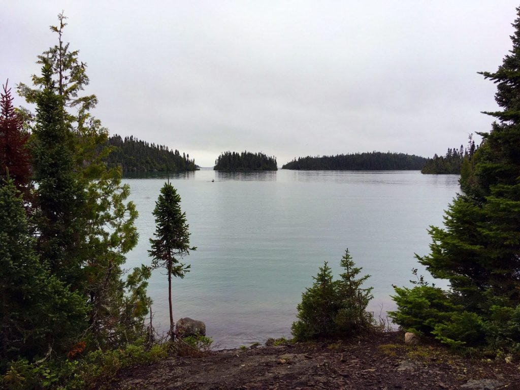 Spar Island view of Lake Superior.