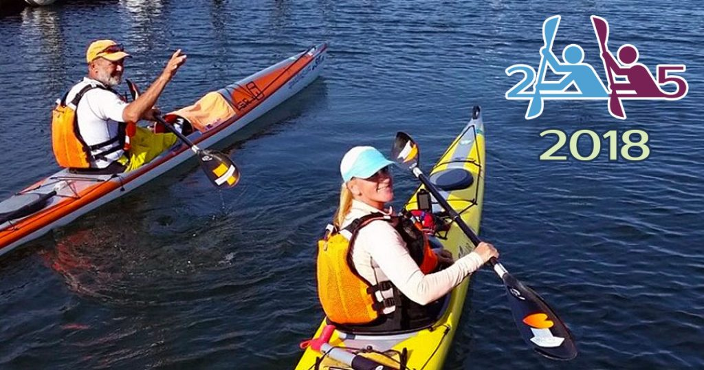 Joe and Peggy's 2 Paddling 5 2018 featured announcement photo.