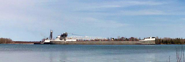 Dunbar Park freighter 5-14-18.