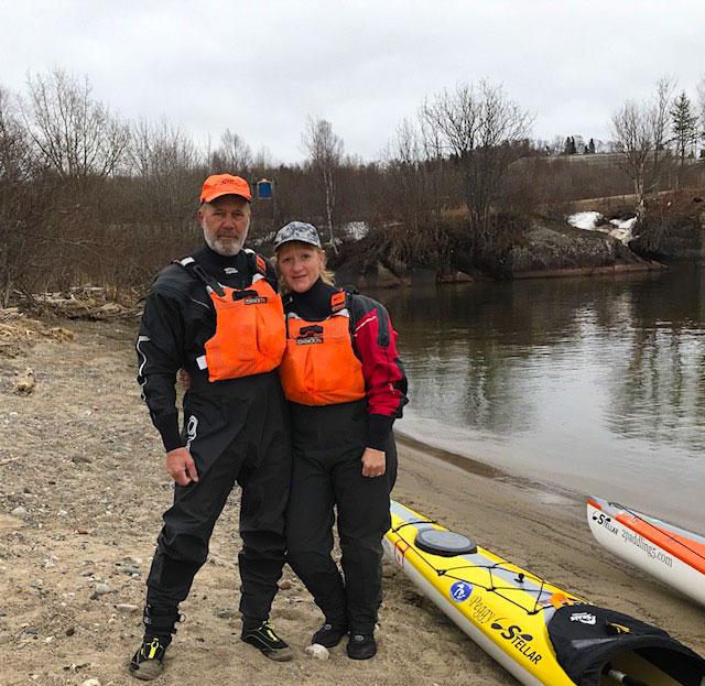 Joe Zellner and Peggy Gabrielson in Marathon Ontario.