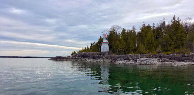 Michael's Bay Lighthouse, Ontario Canada 5-23-18.